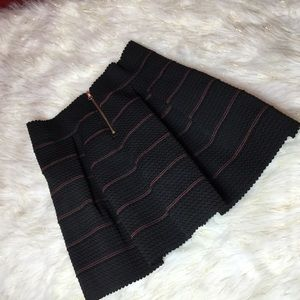Dresses & Skirts - NWOT Fit and Flare Black Pleated Skirt